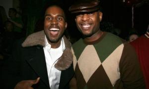 Kanye West and Talib Kweli