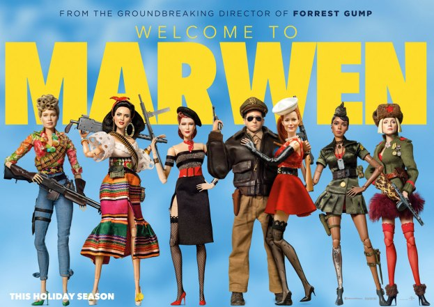 movie poster welcome to marwen