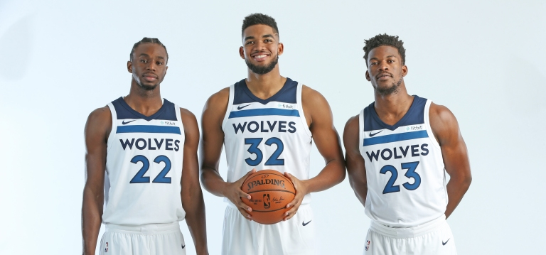 2017-18 Minnesota Timberwolves Media Day